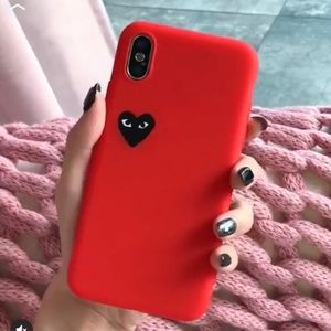 Iphone XS X Comme Des Garcons CDG Hypebeast Cover